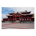 Shuri Castle in Okinawa, Japan Poster