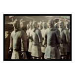 Terracotta Army, Qin Dynasty, 210 BC; warriors Poster