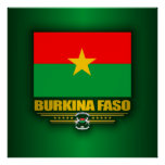 Burkina Faso Pride Poster