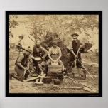 Prince De Joinville Servants Quarters 1862 Poster
