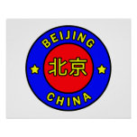 Beijing China Poster