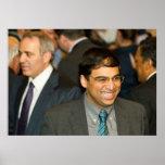 World Chess Champion Vishy Anand Poster