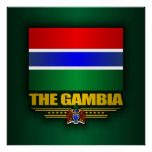 The Gambia Flag Poster