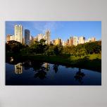 City Londrina Brazil Poster