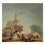 The Hermitage of San Isidro, Madrid, 1788 Poster