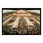 Terracotta Army, Qin Dynasty, 210 BC Poster