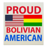 Proud Bolivian American Poster