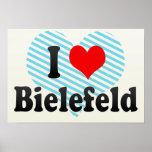 I Love Bielefeld, Germany Poster
