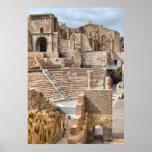 Roman Theatre, Cartagena, Spain Poster