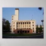 IIT Kharagpur Main Building Poster