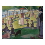 A Sunday on La Grande Jatte by Seurat Poster