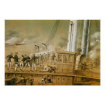 Admiral Amedee Anatole Courbet Poster