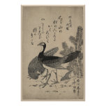 Wildfowl and Pine Poster