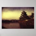 The Matsumoto Castle, Japan Poster
