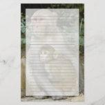 Rhesus Macaques Macaca mulatta) mother & baby Stationery