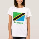Tanzania Flag with Name T-Shirt