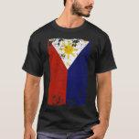 Filipino Vintage Distressed Philippines Flag T-Shirt