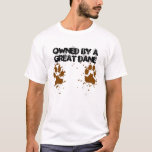 Men's Owned by a Great Dane T-Shirt
