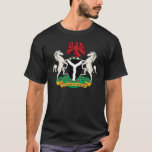 Nigeria Coat of Arms detail T-Shirt