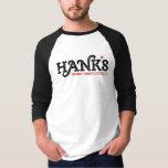 Hank's Honky Tonk 3/4 (Men's) Black T-Shirt