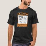 Warning Temperamental Bari Sax Player T-Shirt