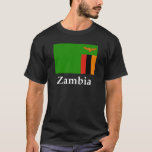 Zambia Flag And Name T-Shirt