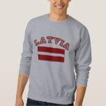 Latvia Flag 2 Sweatshirt