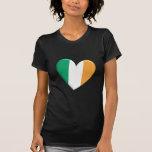 Ireland Heart Flag T-Shirt