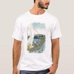 Kuwana Landscape, from '53 Famous Views' T-Shirt