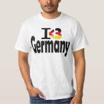 I Love Germany Flag T-shirt T-Shirt