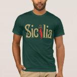 Sicilia t-shirt, dark apparel T-Shirt