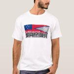 Samoa Muamua Le Atua - American Samoa / Samoa Flag T-Shirt