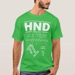 Tokyo Haneda International Airport HND T-Shirt