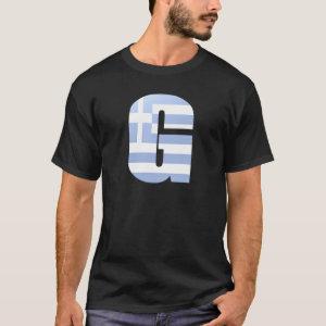 G (Greece) Monogram T-Shirt
