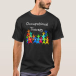 Occupational Therapy Colorful T-shirt