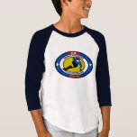 Youth 3/4 sleeve T / Oakville Speed Skating Club T-Shirt