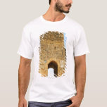 Low angle view of a fort, Porta Franca, T-Shirt