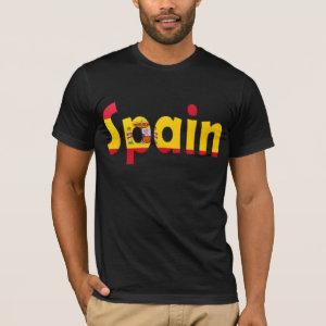 Spain Flag T-shirt