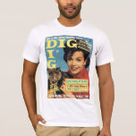 """T-Shirt """"DIG"""" Teen Mag Cover ANNETTE 1964"""