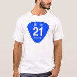 National highway 21 line - national highway sign T-Shirt