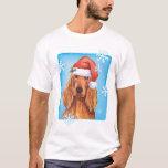 Happy Howlidays Irish Setter T-Shirt