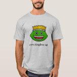 KLN Lime Logo Mens T-Shirt Gray