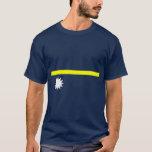 Nauru flag shirt