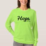 long sleeve hope 4 mito shirt womans