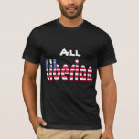 All Liberian Flag T-shirt