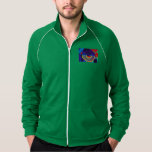 zipper sweater for men w Tao i-ching WuWei