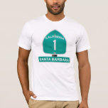 California Highway 1 Sanya Barbara T-Shirt