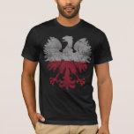 Vintage Flag of Poland White Eagle T-Shirt