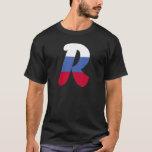 R (Russia) Monogram Flag T-Shirt