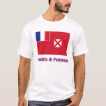 Wallis and Futuna Flag with Name T-Shirt